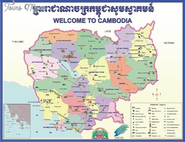 cam map03 Cambodia Map