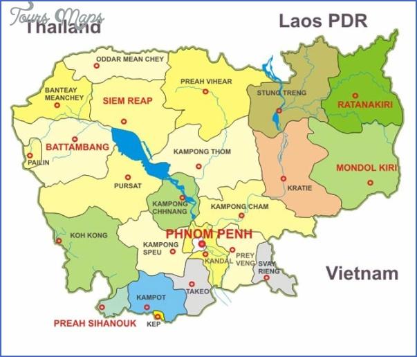 cambodia map Cambodia Map
