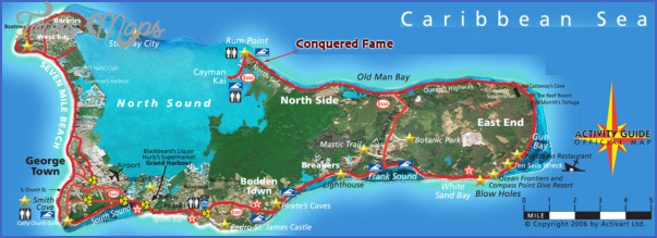 caymanmap Grand Cayman Map