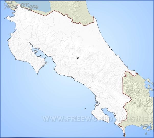 costa rica map 10 Costa Rica Map