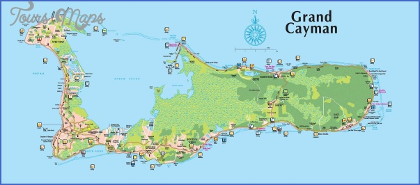 grand cayman map 0 Grand Cayman Map