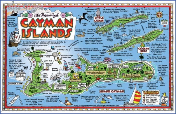 grand cayman map 2 Grand Cayman Map