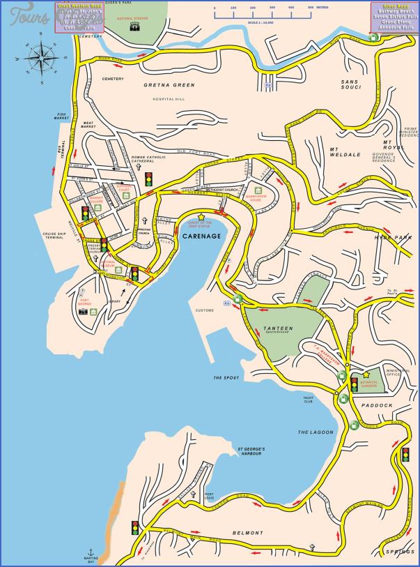 grenada map 13 Grenada Map