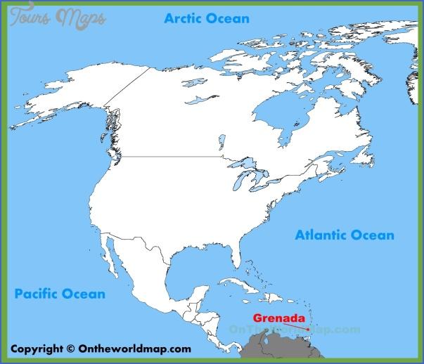 grenada map 4 Grenada Map