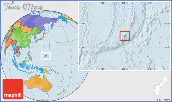guam map 11 Guam Map