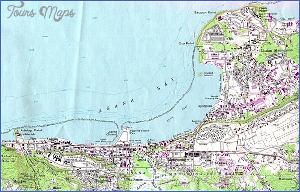 guam map 15 Guam Map