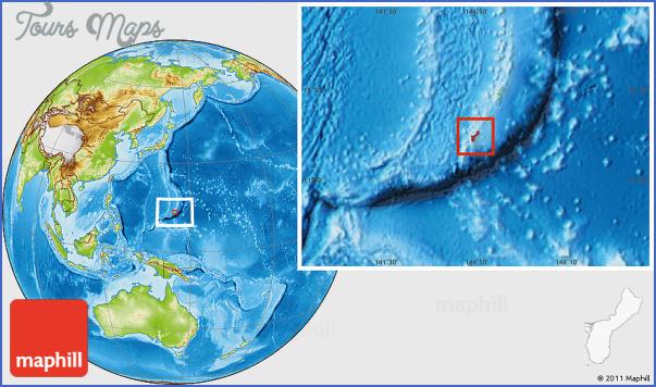 guam map 9 Guam Map