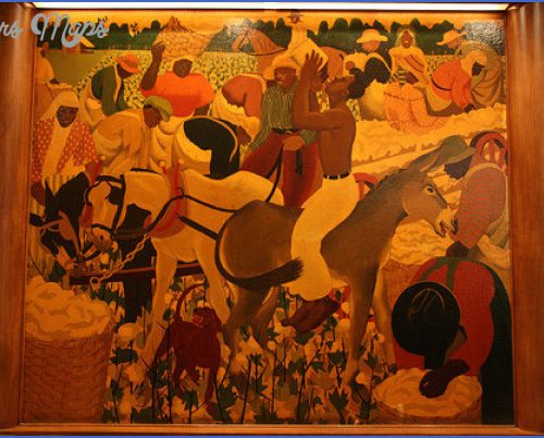 Historic murals at the Sazerac Bar SAZERAC BAR NEW ORLEANS_14.jpg