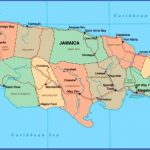 map of jamaica 150x150 Jamaica Map and Flag