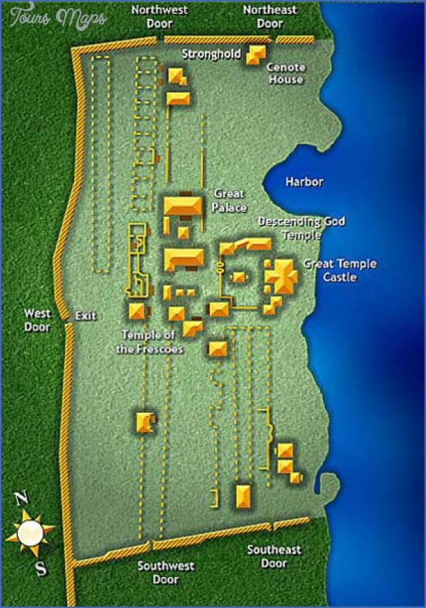 map of tulum and coba 0 Map of Tulum and Coba