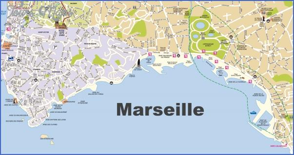 marseille map 2 Marseille Map