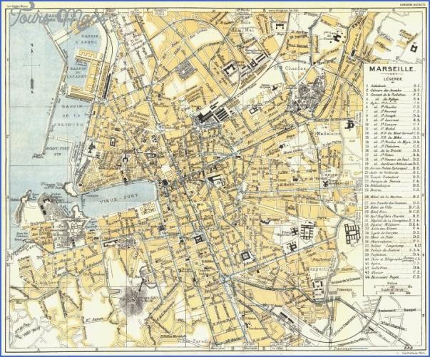 marseille map 20 Marseille Map