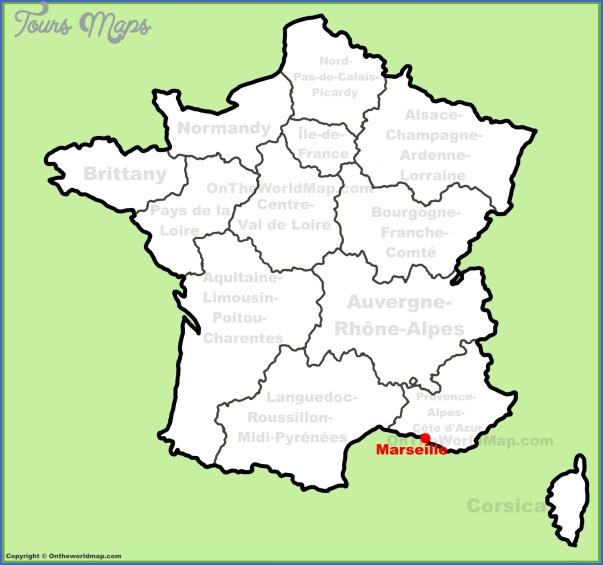 marseille map 22 Marseille Map