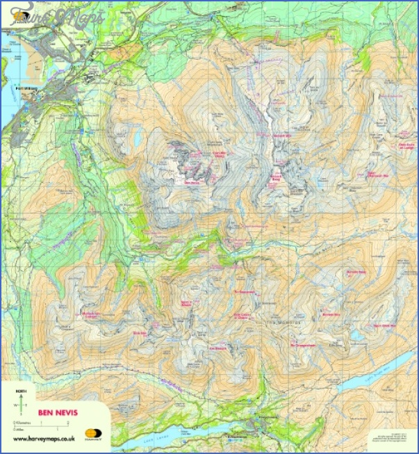 nevis map 10 Nevis Map