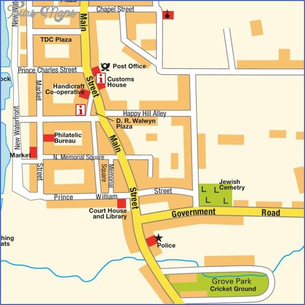 nevis map 11 Nevis Map