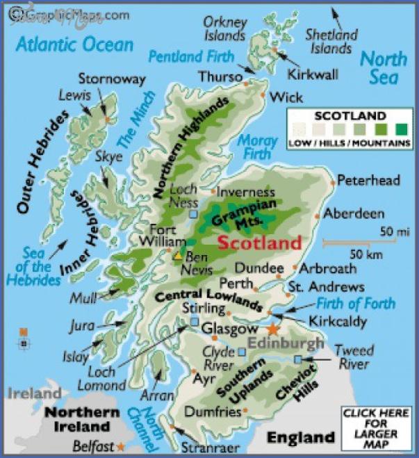 nevis map 12 Nevis Map