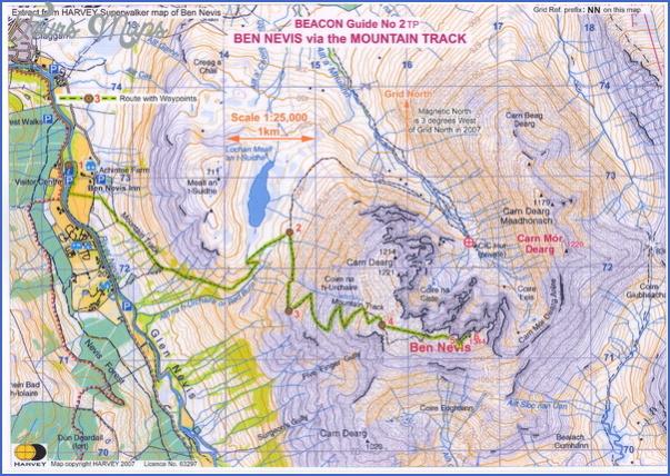 nevis map 21 Nevis Map
