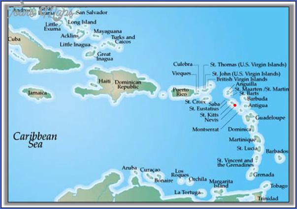 nevis map 22 Nevis Map