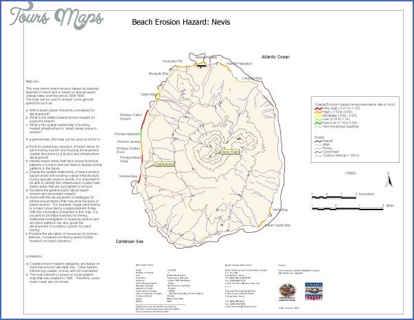 nevis map 7 Nevis Map