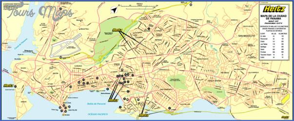 panama city map 24 Panama City Map