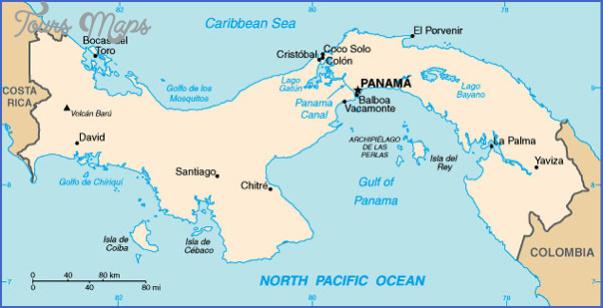 panama city map 4 Panama City Map