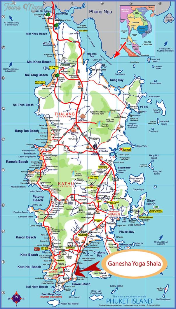 phuket map 3 Phuket Map