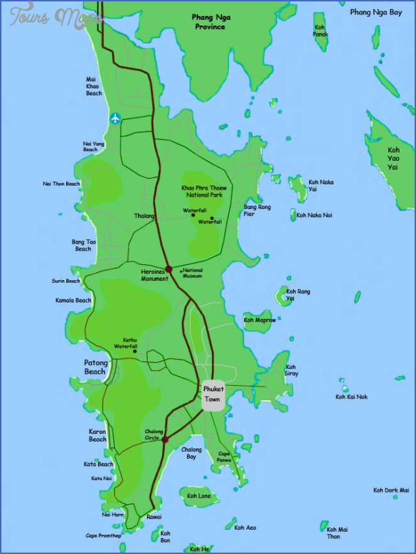 phuket map 6 Phuket Map