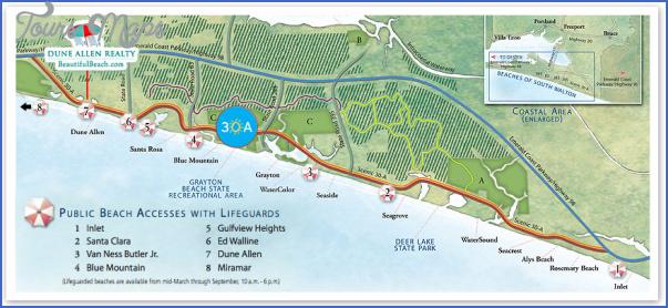 south walton florida map 13 South Walton Florida Map