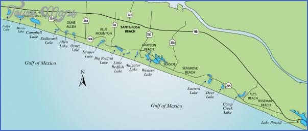 south walton florida map 18 South Walton Florida Map