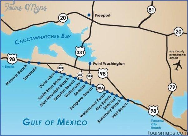 south walton florida map 4 South Walton Florida Map
