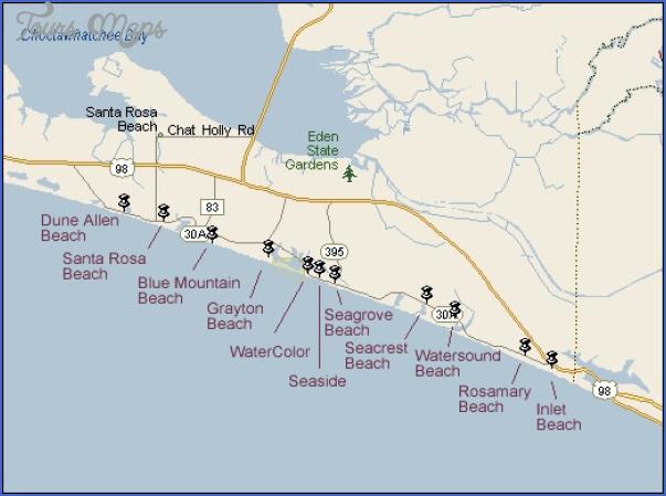 South Walton Florida Map 9 150x150