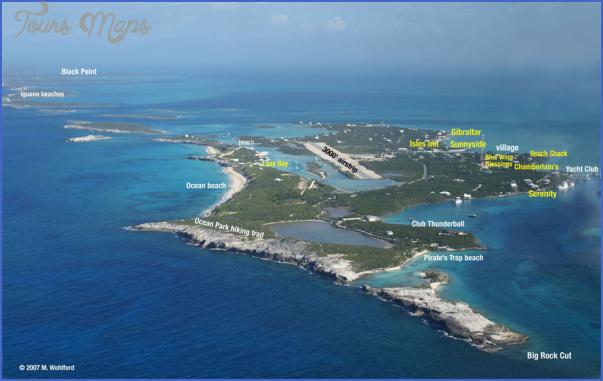staniel cay bahamas 5 Staniel Cay, Bahamas Map