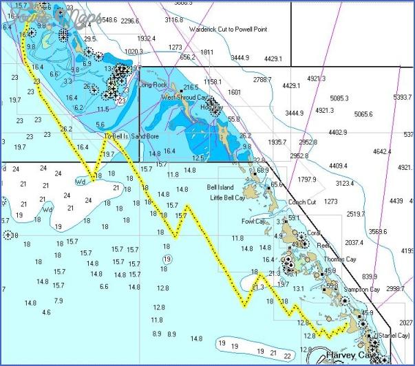 trkstaniel Staniel Cay, Bahamas Map