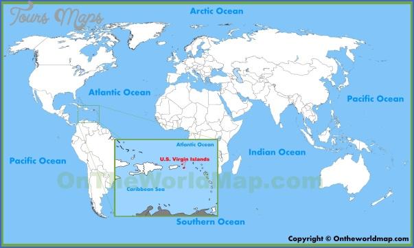 u s virgin islands map 10 U.S. VIRGIN ISLANDS MAP