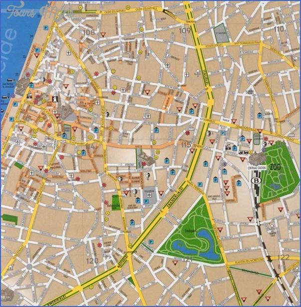 antwerp map tourist attractions 4 Antwerp Map Tourist Attractions