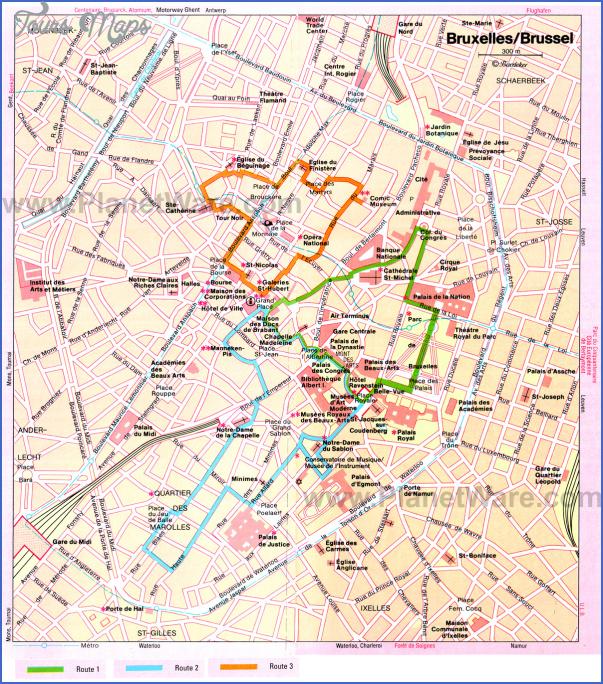antwerp map tourist attractions 7 Antwerp Map Tourist Attractions