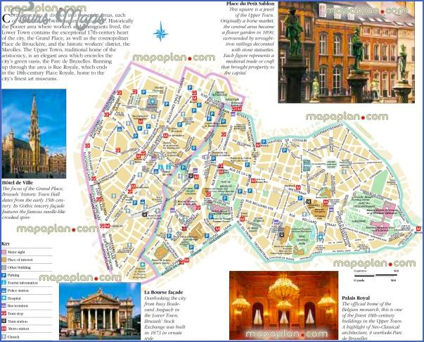 belgium map tourist attractions 1 Belgium Map Tourist Attractions