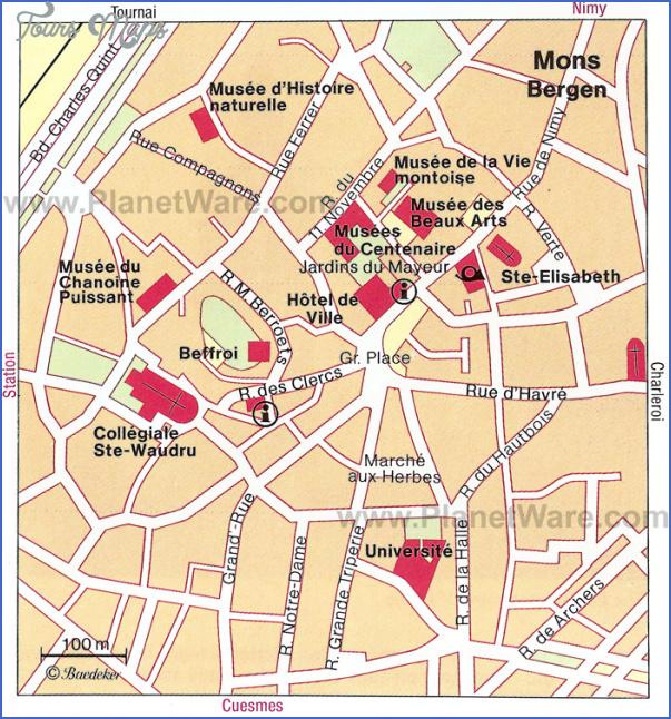 belgium map tourist attractions 14 Belgium Map Tourist Attractions