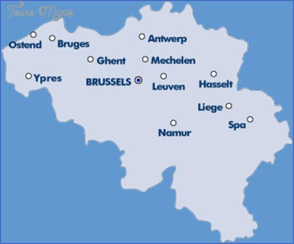 belgium map tourist attractions 2 Belgium Map Tourist Attractions