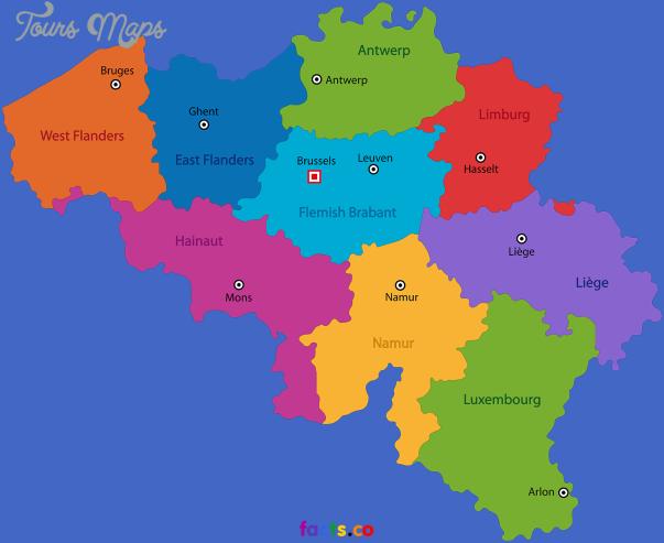 belgium map 3 Belgium Map