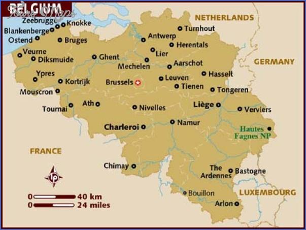belgium map 5 Belgium Map