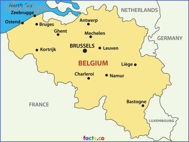 belgium map 9 Belgium Map