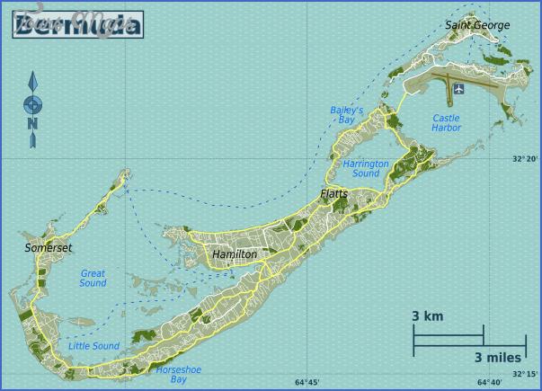 bermuda map 10 Bermuda Map