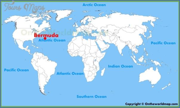 bermuda map 12 Bermuda Map