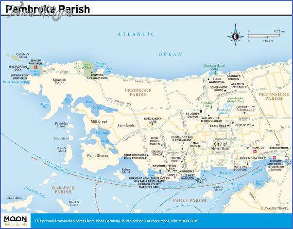 bermuda map 15 Bermuda Map