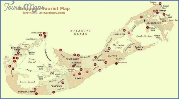 bermuda map 16 Bermuda Map