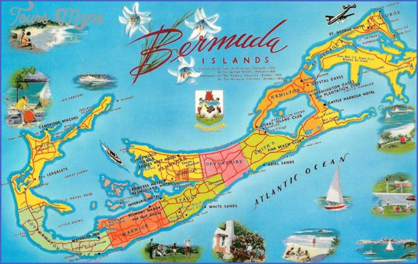 Bermuda Map ToursMapscom
