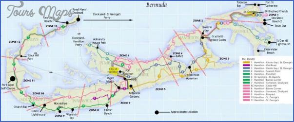 bermuda map 24 Bermuda Map