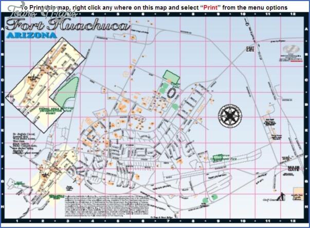 fort huachuca huachuca city map 10 Fort Huachuca, Huachuca City Map