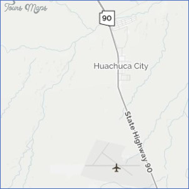 fort huachuca huachuca city map 11 Fort Huachuca, Huachuca City Map
